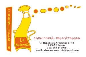 Datos de contacto de La Alacena Carniceria