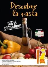 Hoy desgustación de pasta fresca en LaAlacena