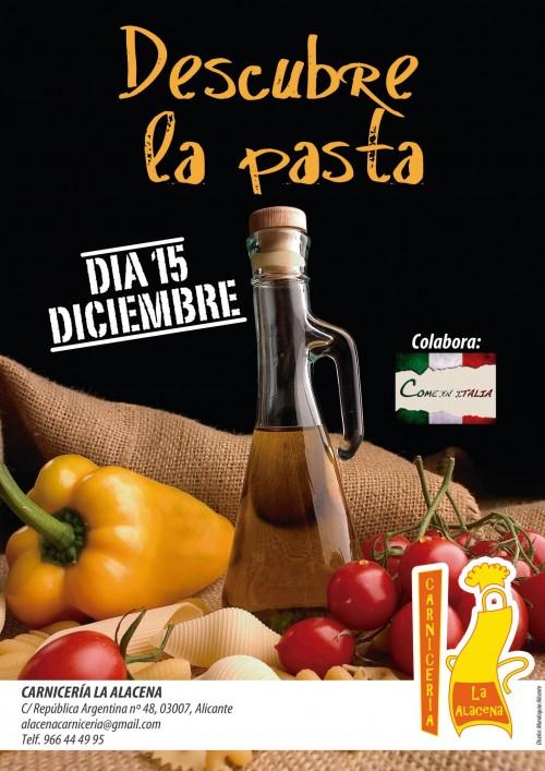 Degustación de pastas y vinos en La Alacena