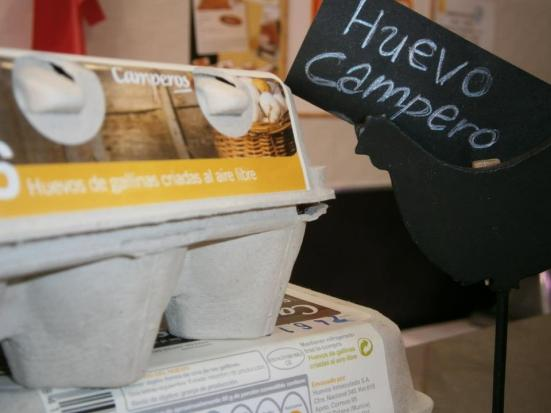 Huevos camperos disponibles en La Alacena
