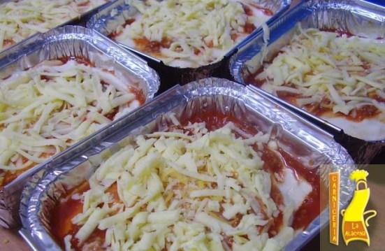 Lasaña de receta italiana