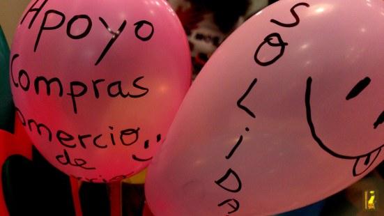 Primer cashmob celebrado en Alicante el pasado 7 de junio