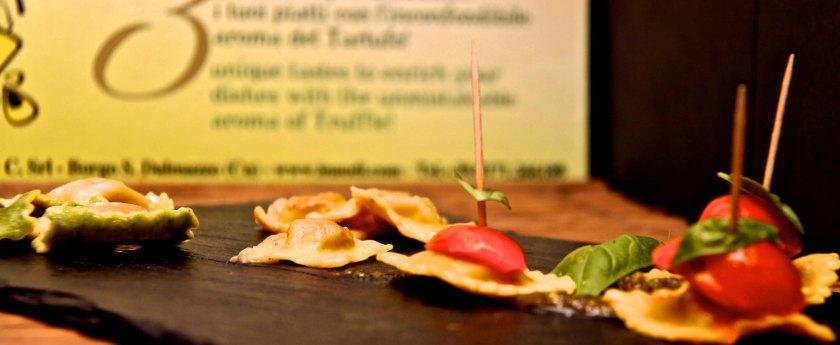 Degustación pasta Alicante Carnicería La Alacena