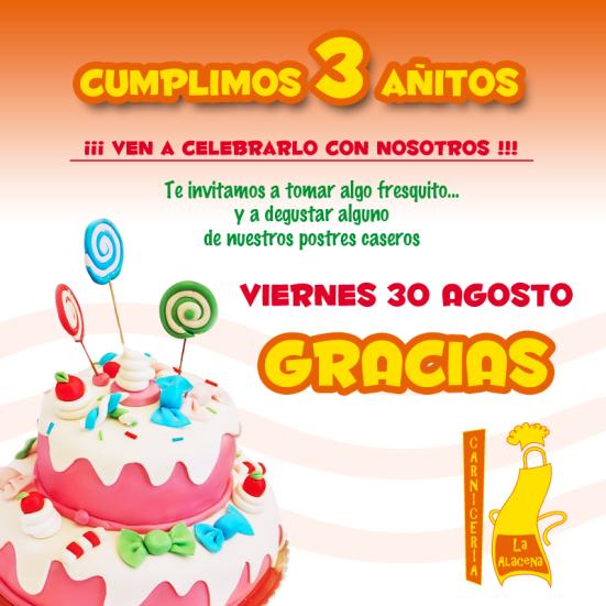 Cumpleaños de La Alacena Carnicería